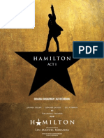 Hamilton (Original Broadway Cast Recording) - Act I Booklet (Hi-res) - FINAL