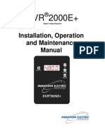 Marathon Voltage Regulator DVR2000EPlus_IOM_GPN046
