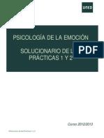 Solucionario Prácticas 1 y 2