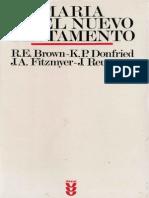 BROWN, R. E. (Et Al.) - Maria en El Nuevo Testamento - Sigueme, 1987