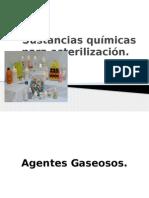 Sustanciasquímicasparasterilización