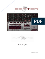 RP Predator Manual French