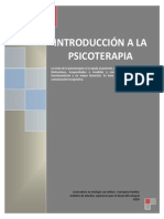 Introducción a la Psicoterapia