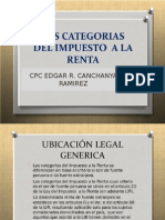 Categoria Del Impuesto a La Renta