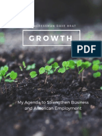 GROWTH - My Agenda to Strengthen Business and American Employment