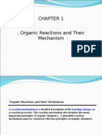 Organic Rxn Mechanism