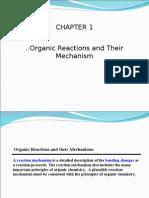 Organic Rxn Mechanism