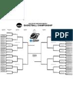 Men's Division 3 Basketball Bracket Final 4