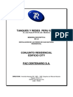 Memoria_Instalacion Redes GN EDIFICIO CIYT