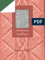 (Libri ) (Knitting) a Second Treasury of Knitting Patterns