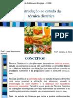 Introdução Ao Estudo Da Técnica Dietética