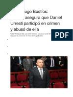 Caso Hugo Bustíos