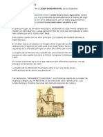 Capilla La Merced Primer Informe