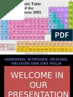 Kimdas_ Kelompok 3-Hidrogen, Oksigen, Nitrogen, Karbon, Halogen, Dan Gas Mulia