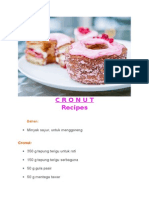cronut recipes