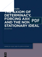 Woodin - The Axiom of Determinacy, Forcing Axioms and the Non-Stationary Ideal