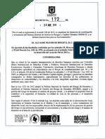 Decreto 172