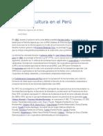 Agricultura en El Perú
