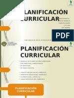 Planificación Curricular. Equipo 1