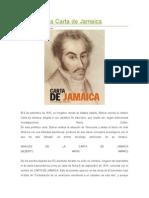 La Carta de Jamaica