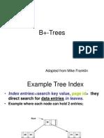 b+trees