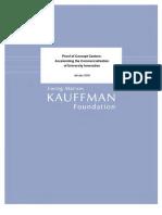 Proof Of Concept Centers Kauffman Fdn Jan 2008