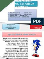 Kimdas_ Kelompok 4_ppt Alkali,Alkali Tanah, Unsur Transisi
