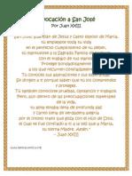 Invocación a San José