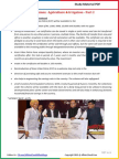 Modi Schemes - Agriculture & Irrigation - Part 2