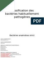 Classification Des Bactéries Habituellement Pathogènes Suite (2)