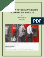 Senate Inquiry into Contrived Loan Impairment,
