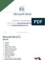 Aula de Microsoft Word - Danilo Giacobo
