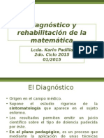 1 y 2 Diagnóstico y Rehabilitación de La Matemática