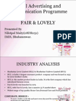 fair and lovely swot analysis