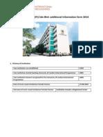 Stamford College Additional Information Form 2014 (1)