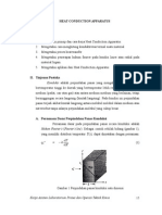 Modul Praktikum OTK I - Heat Conduction Apparatus