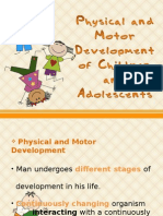 Physical and Motor Development of a Child