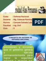Defensa Nacional - Campos