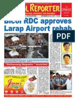 Bikol Reporter September 20-26, 2015 Issue
