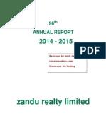 Zandu Annual Report 2015