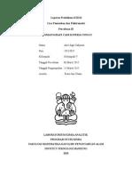 Laporan Praktikum KI2221 Cara Pemisahan Dan Elektrometri Percobaan 02 HPLC