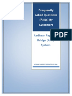 FAQs on APBS for Customers24914