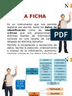 FICHAS Y CITAS APA