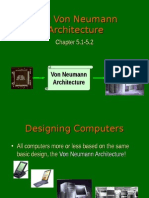 The Von Neumann Architecture