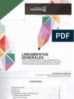 Lineamientos Generales 15-16