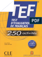 Test D 39 Evalution de Francais Edt