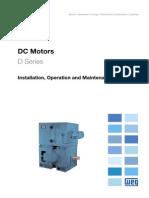 WEG Dc Motor 10061218 Manual English