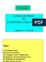 Enterprise Structure Config