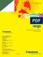 Pigments Dyes Product Range2015