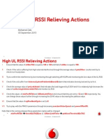 High UL RSSI Problems